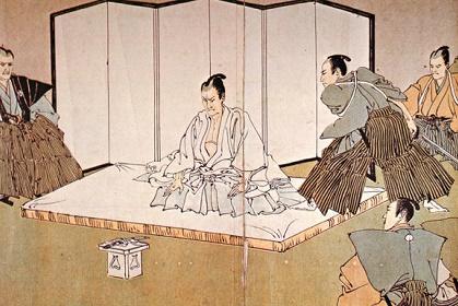 江戸の武士は短刀ではなく木刀や...